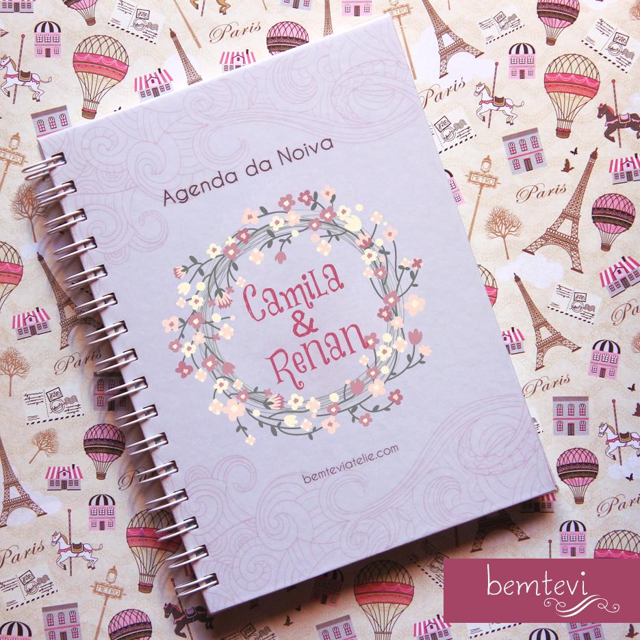 agenda da noiva roxa