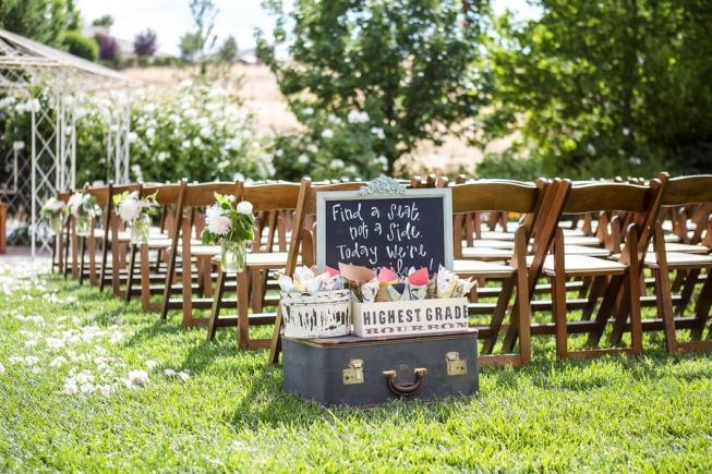 casamento rútico ao ar livre ideias de decoração