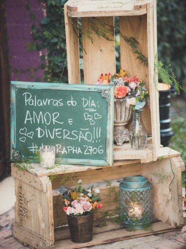 Casamento rústico Dicas e ideias para utilizar essa decoraç u00e3o incrível!