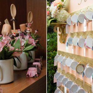 decoração para chá de cozinha