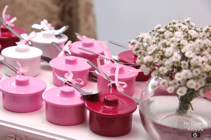 decoração para chá de cozinha rosa