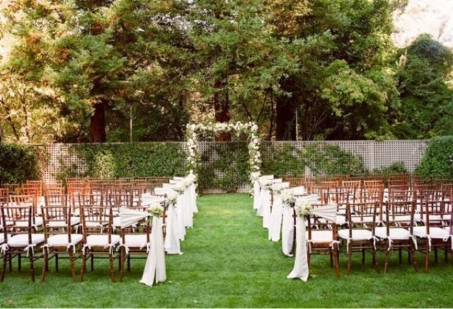 Dicas para casamento à tarde altar
