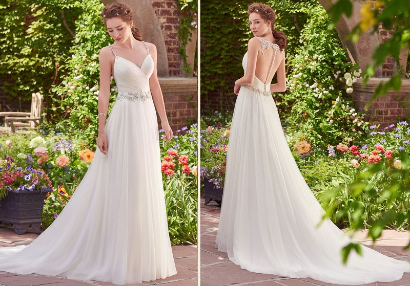 Dicas para casamento à tarde vestido