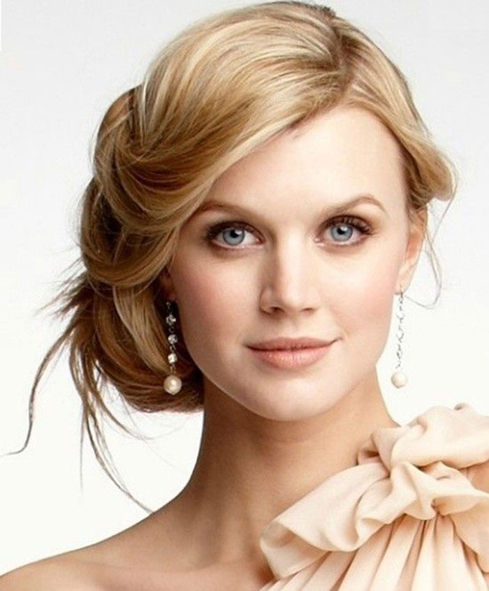 Maquiagem para noivas loiras