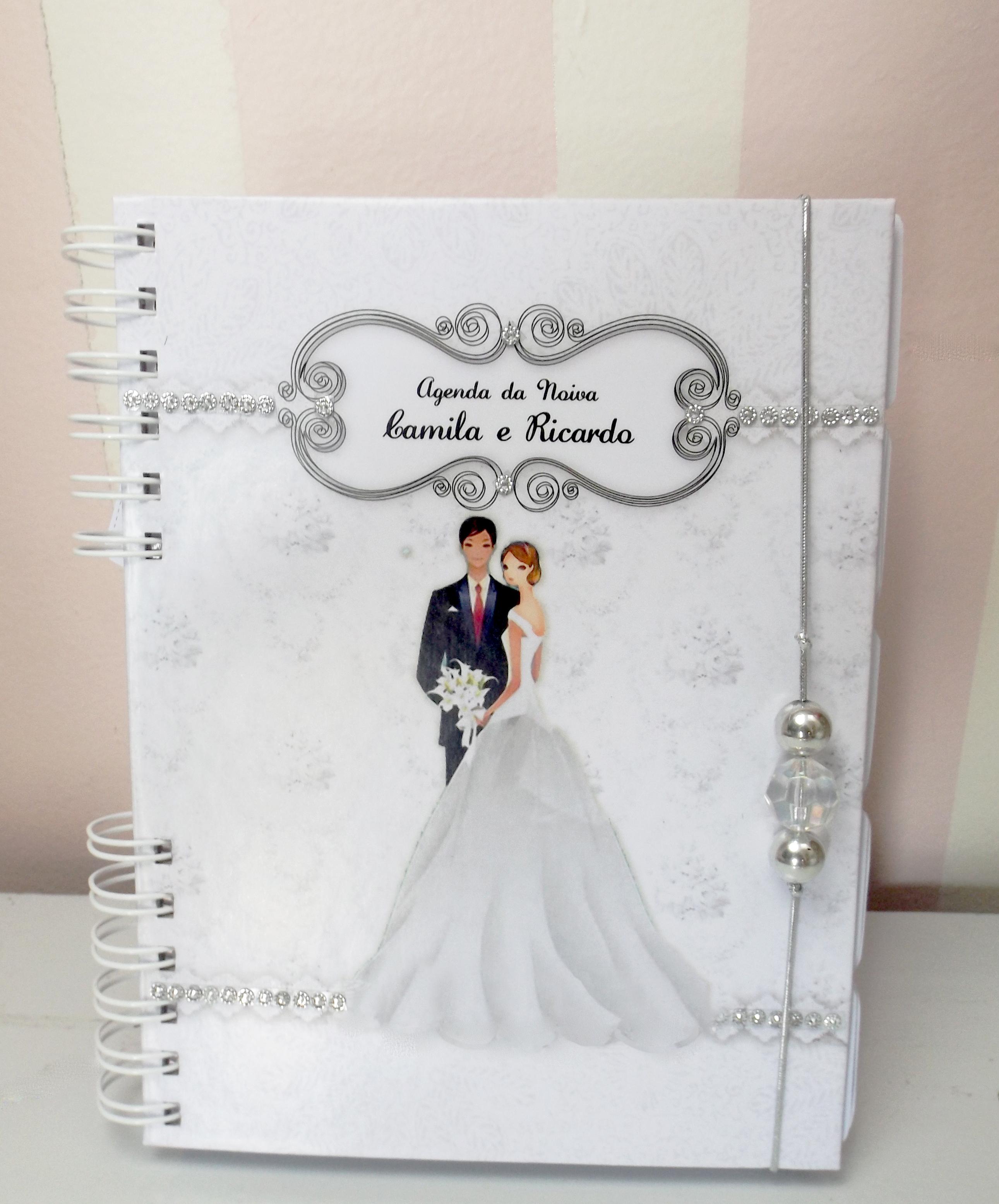 agenda da noiva branca