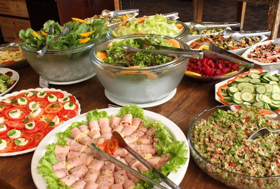 almoço completo