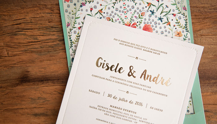frase de convite de casamento