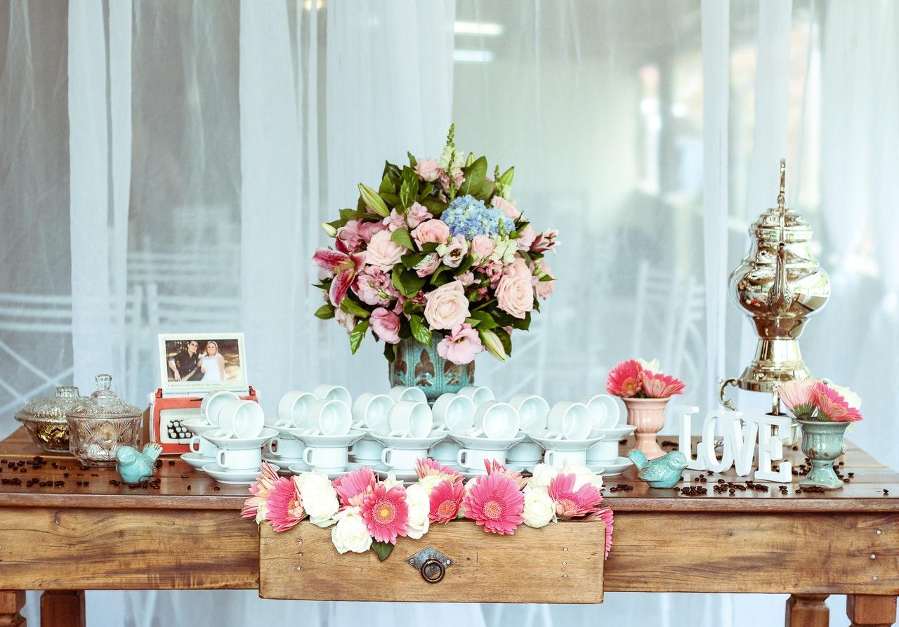 decoração casamento economizar