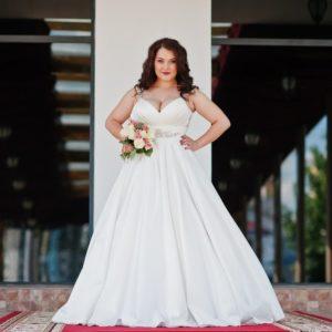 modelo de vestido de noiva plus size