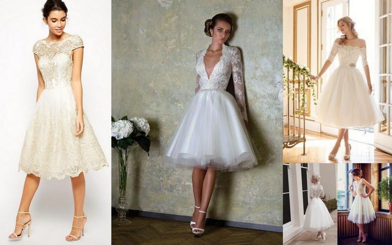 3 modelos de 3 modelos de Vestido de noiva Vintage anos 60
