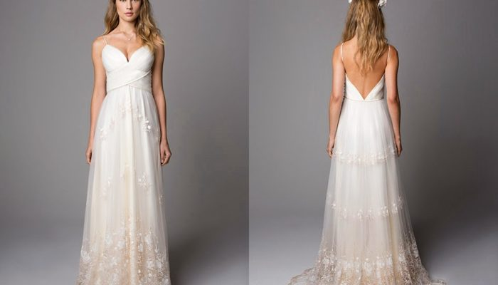 modelo de Vestido de noiva Vintage