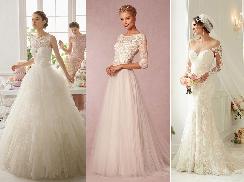 Exemplo de Vestido de noiva Vintage