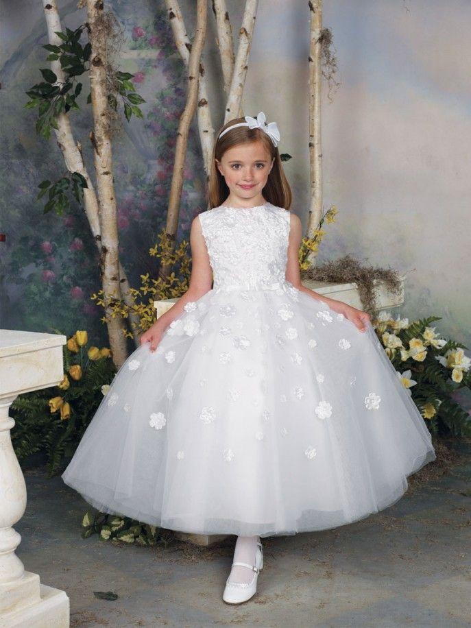 Vestido para dama de honra branco