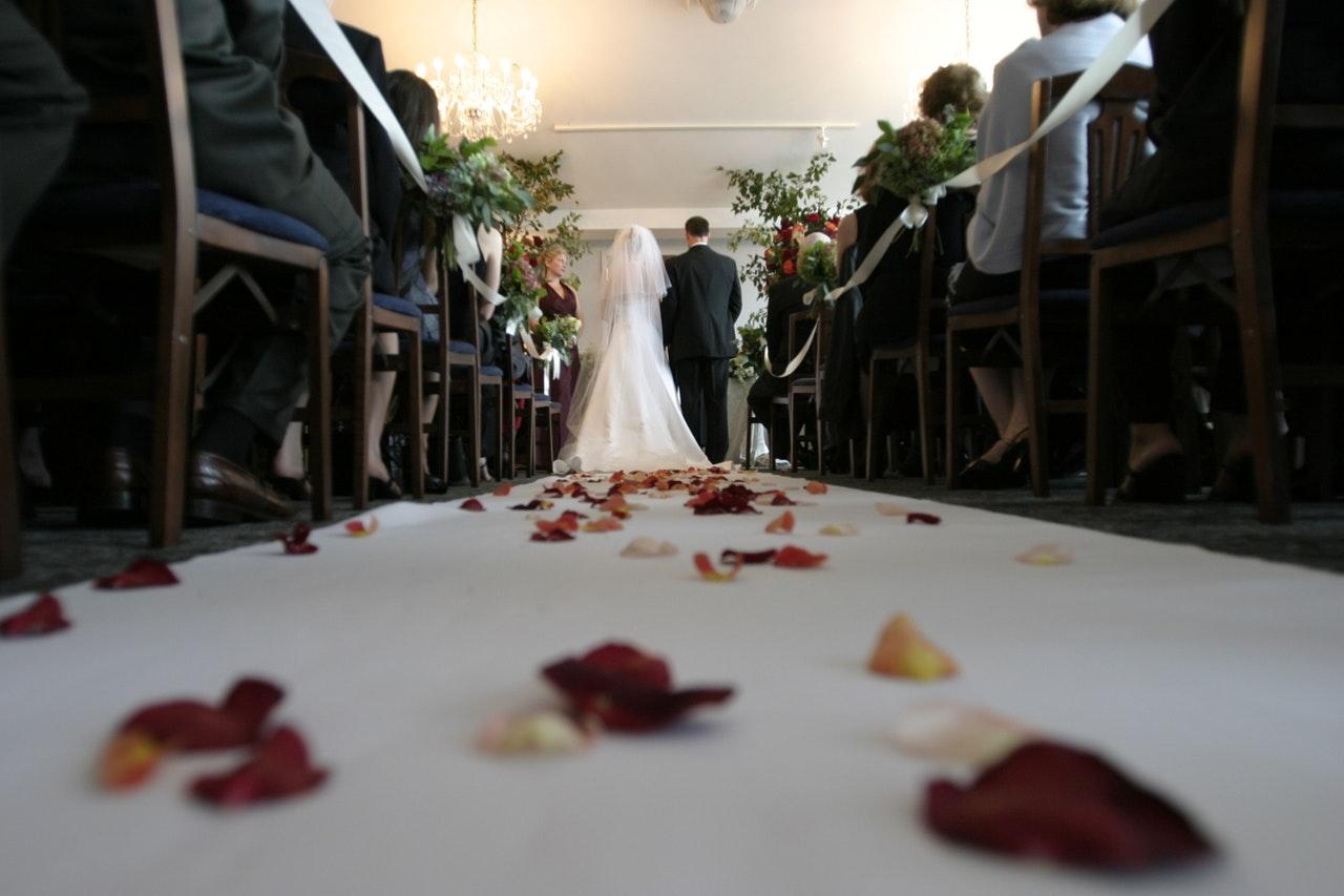 casamento simples na igreja