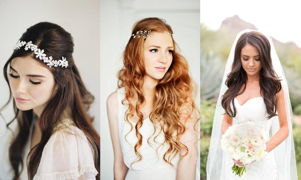 penteados simples para noivas