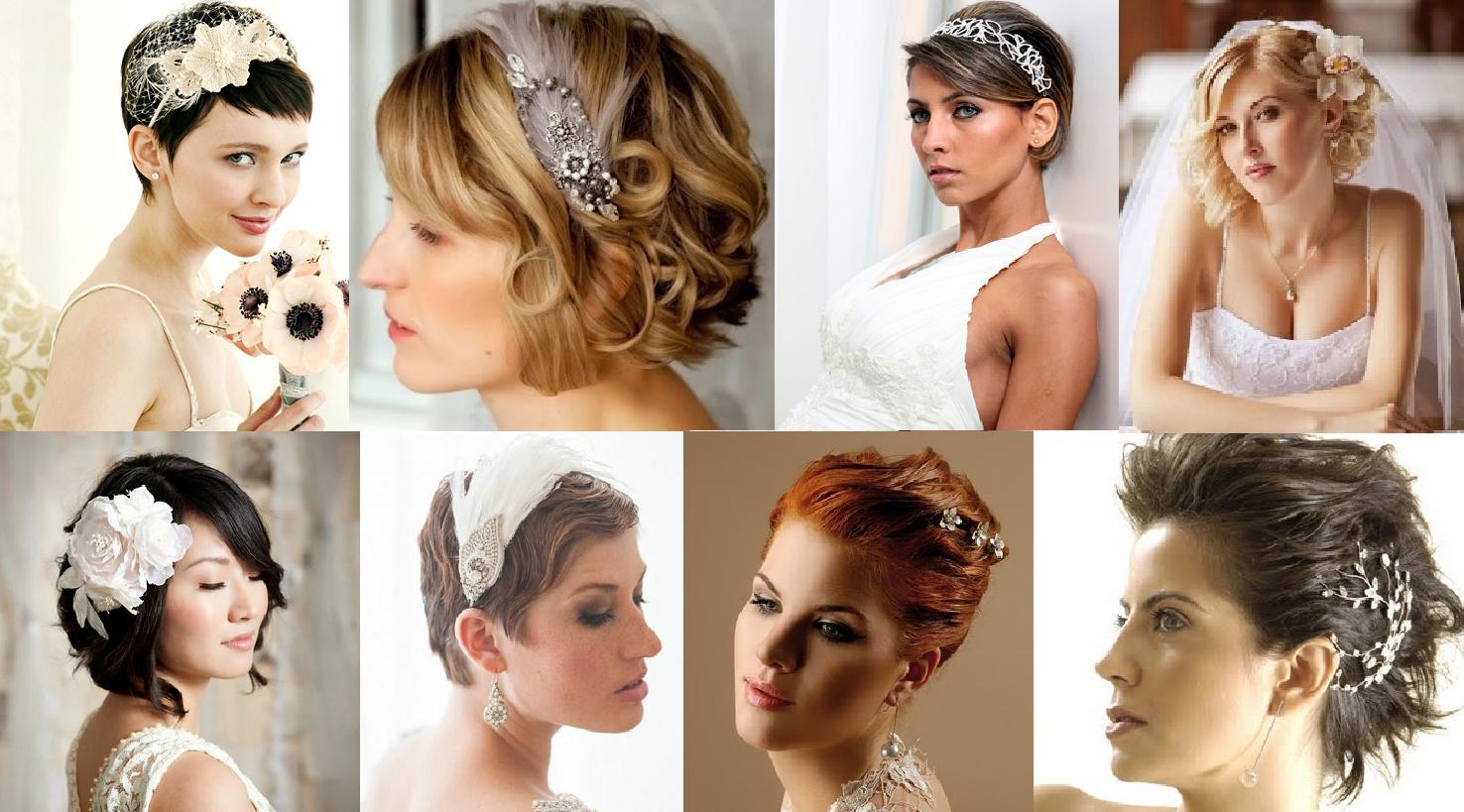 exemplos de fotos com cabelos curtos