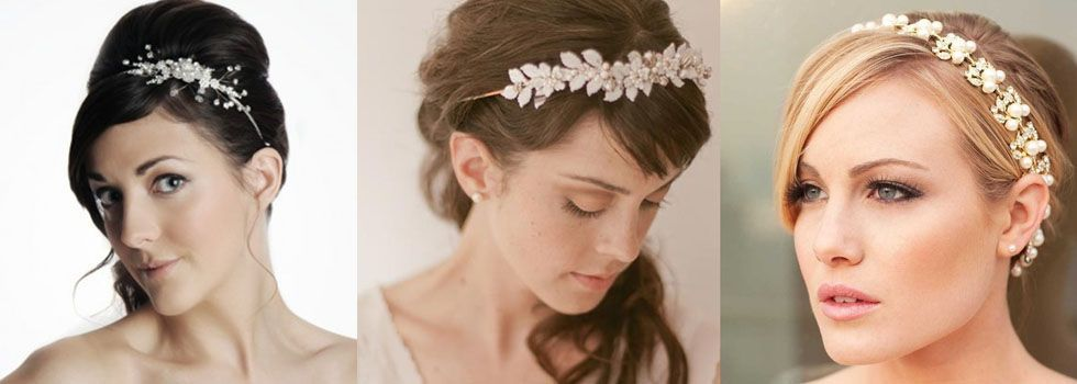Acessórios para noivas para cabelo