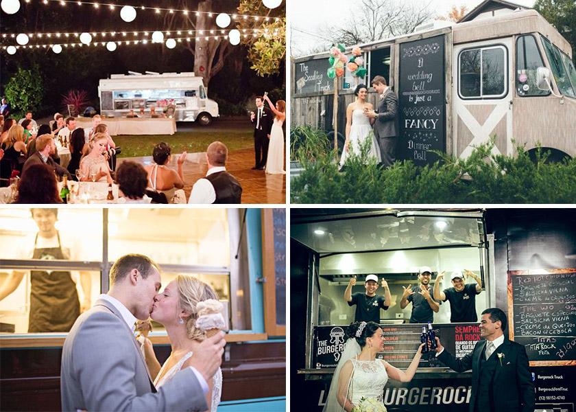 Casamento diferente food truck