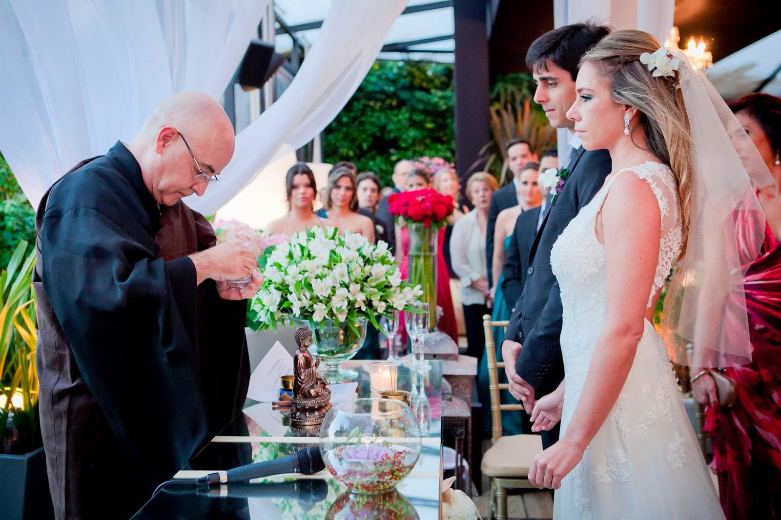Cerimônia de casamento budista