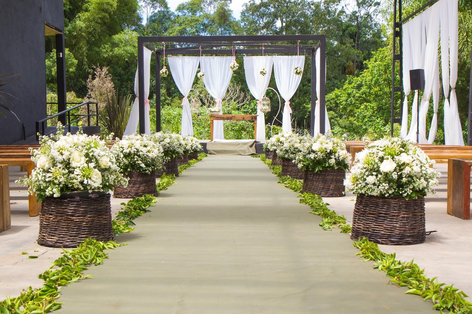 Como organizar um casamento cerimônia