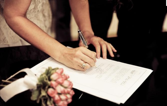Como organizar um casamento no civil