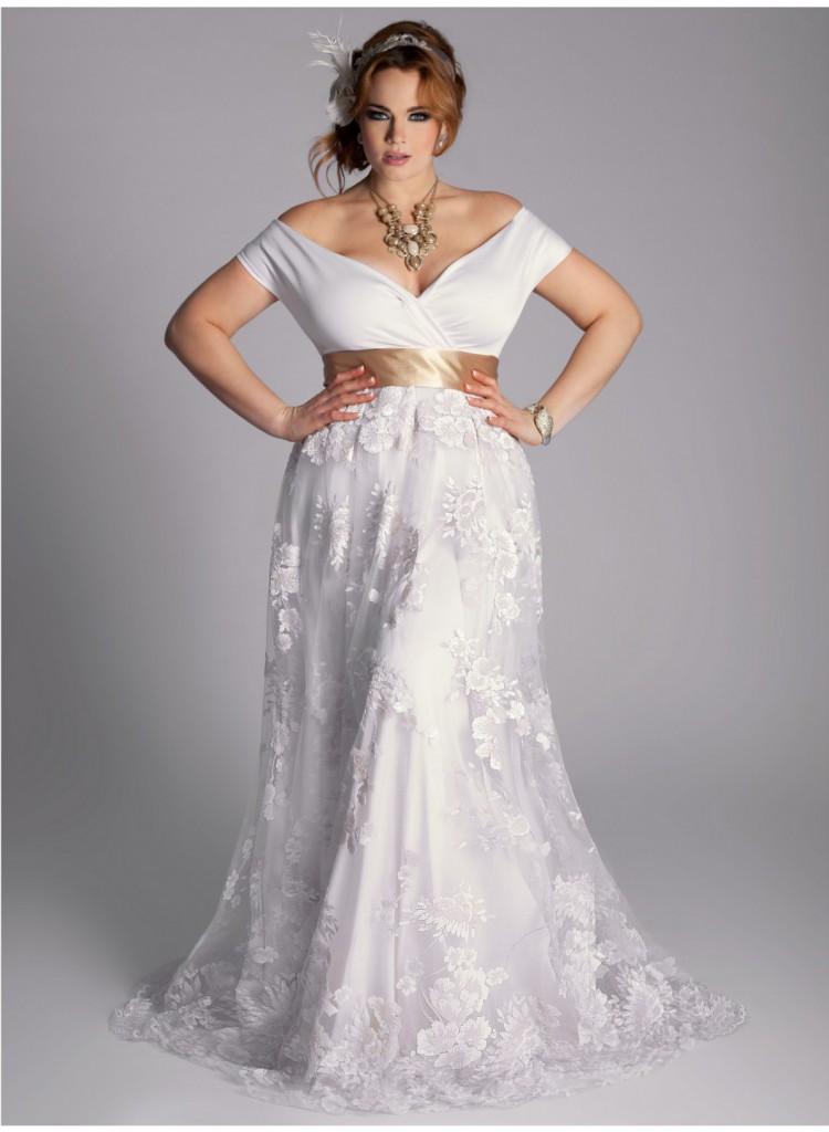 Vestido de noiva para gordinhas casamento civil