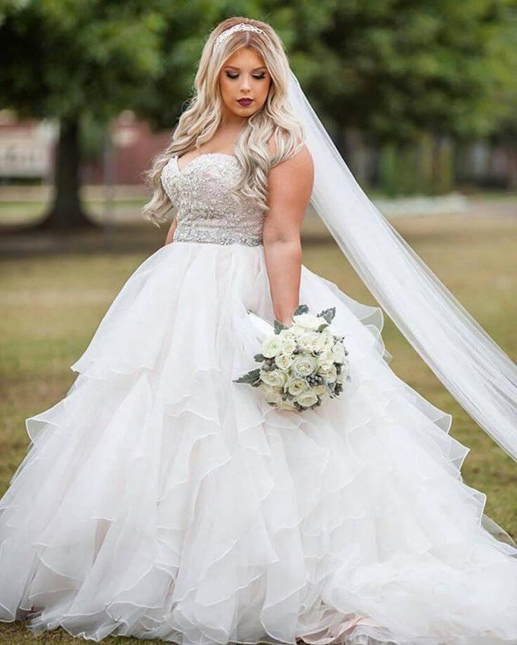 Vestido de noiva para gordinhas modelos