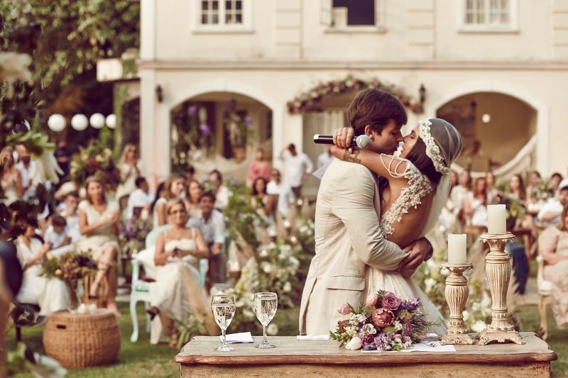 Cerimônia de casamento espirita