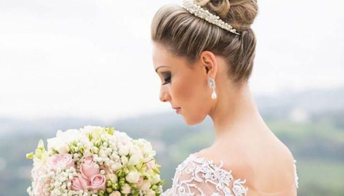 maquiagem para casamento de dia noiva
