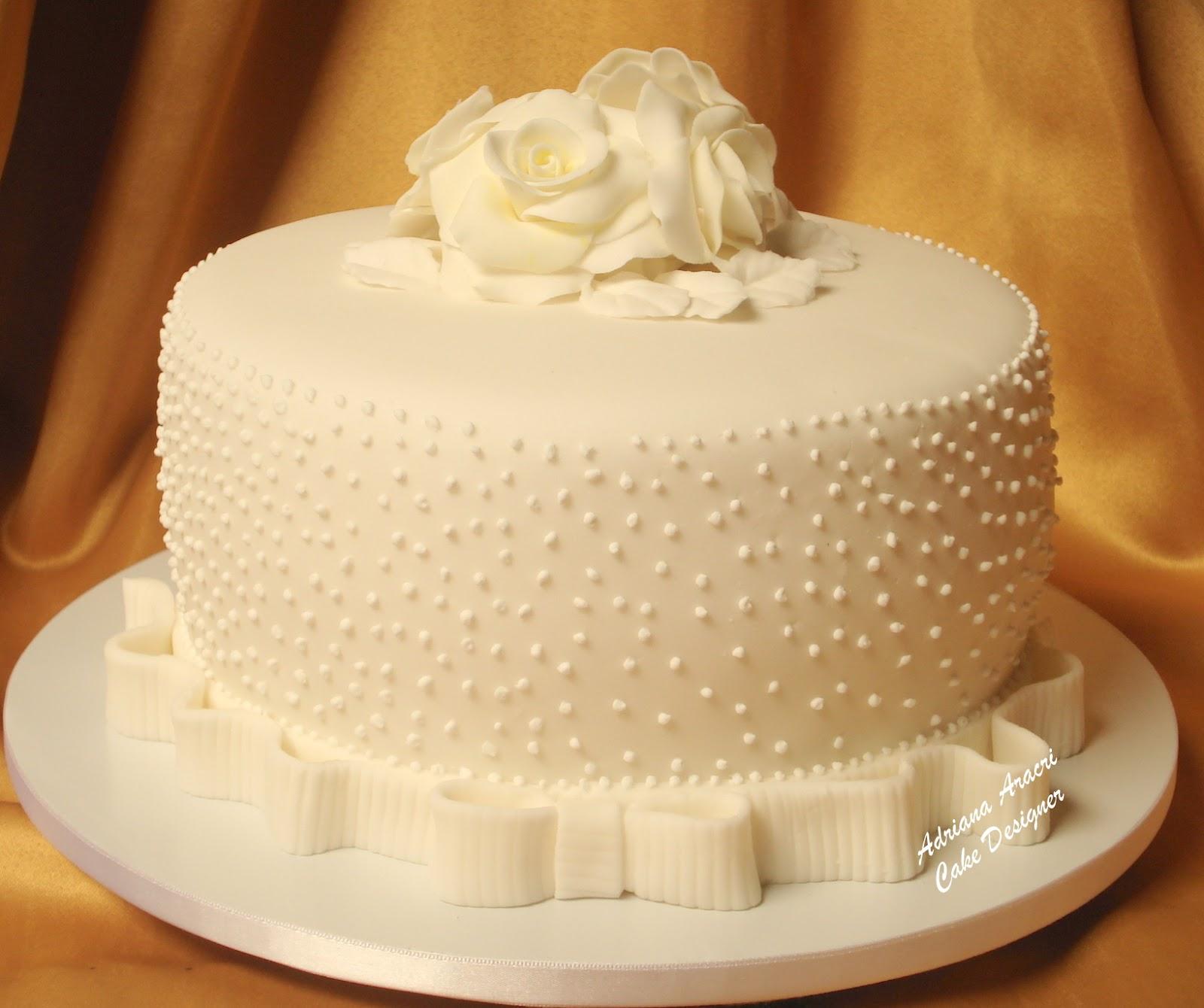 bolo de casamento simples 2
