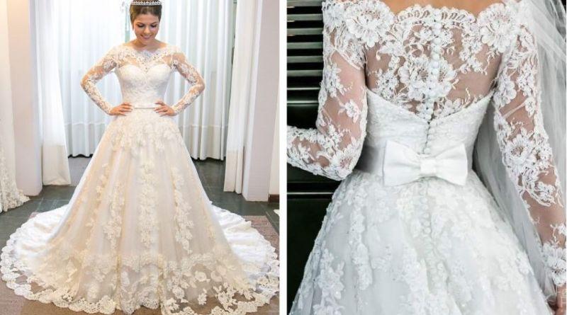 modelos de vestidos para 2019 noiva