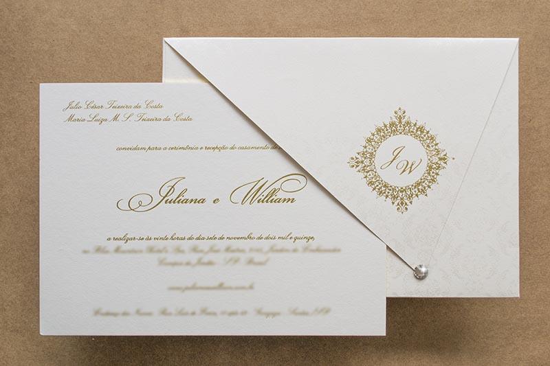 convite tradicional