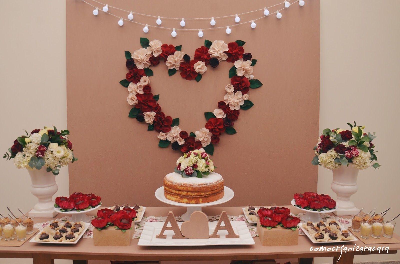 Decoraç u00e3o de noivado Confira AQUI dicas incríveis para os preparativos! -> Decoração De Noivado