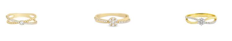 modelos de anel de noivado vivara