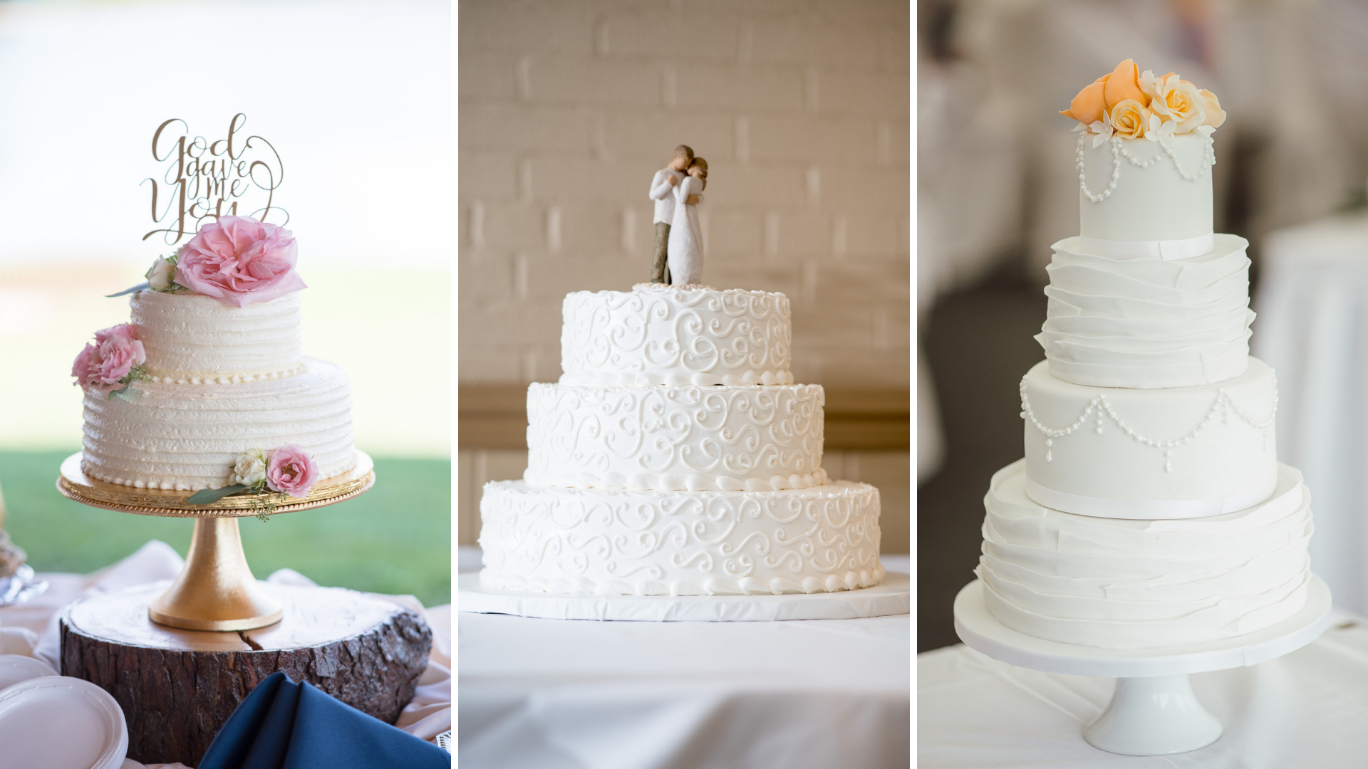 bolo de casamento chantilly