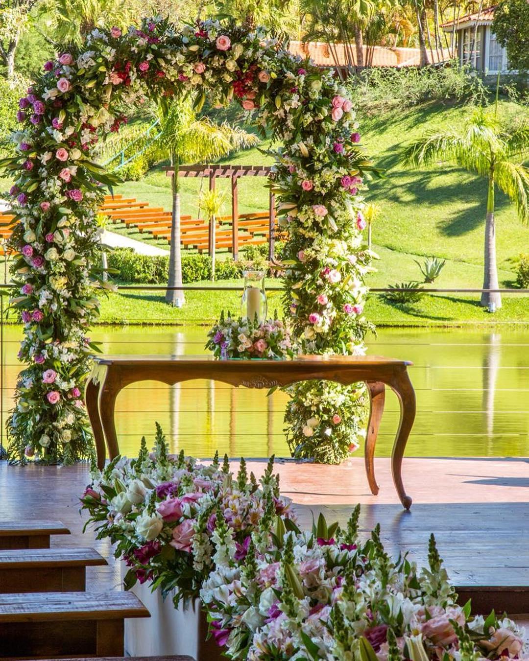 casamento de dia no campo
