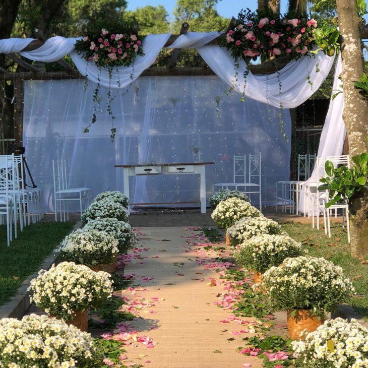 casamento simples no campo