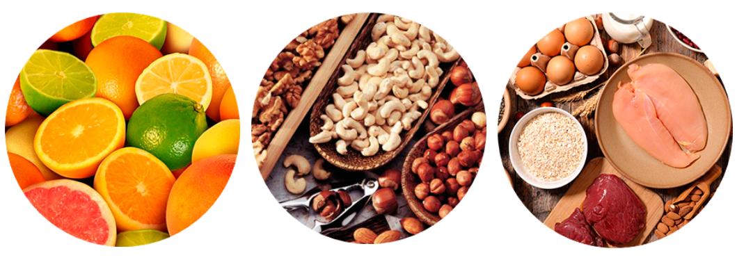 alimentos que fazem parte da composição do keto boost