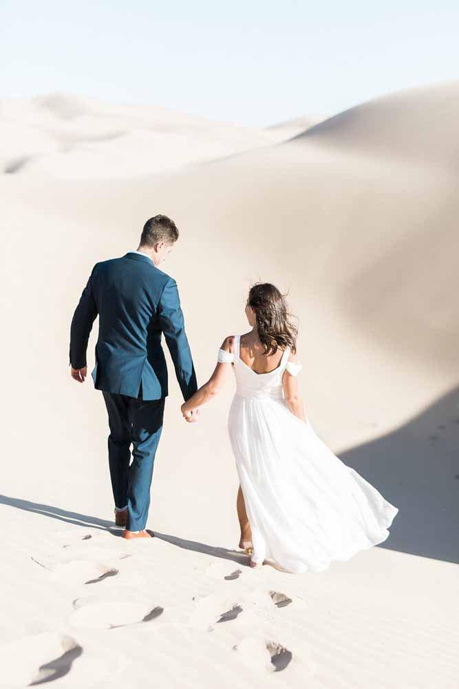 casal nas dunas