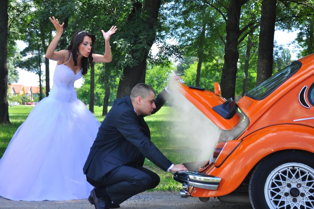 foto criativa para o pré-wedding