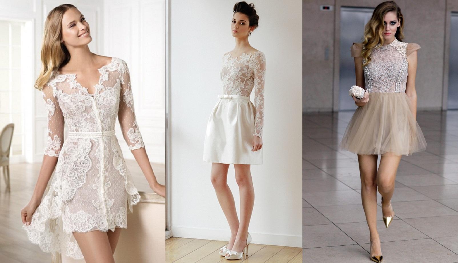 exemplos de vestidos para noivado em alto em 2019