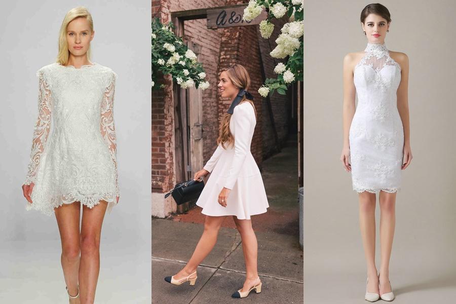 vestido de noivado tendências 2019