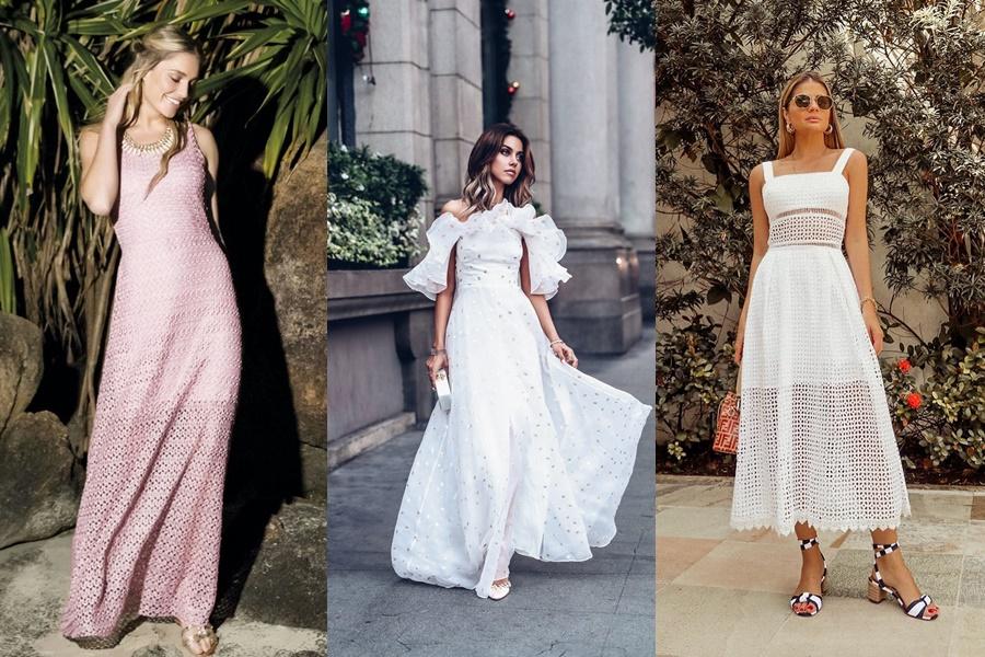 modelos de vestidos longos para vestir na noite de noivado