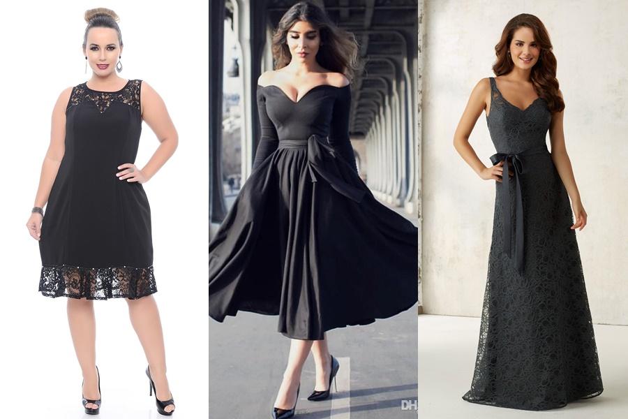 mulheres vestido vestidos pretos para noivado