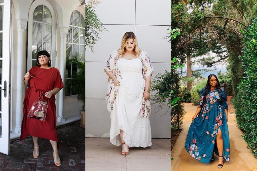 modelos de vestidos para noivado plus size
