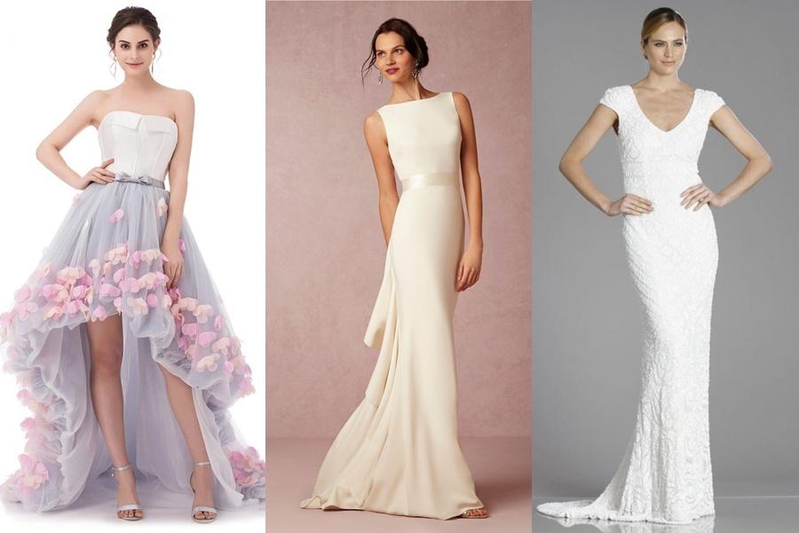 exemplos de vestidos mais exuberantes de noivado para festa de noite
