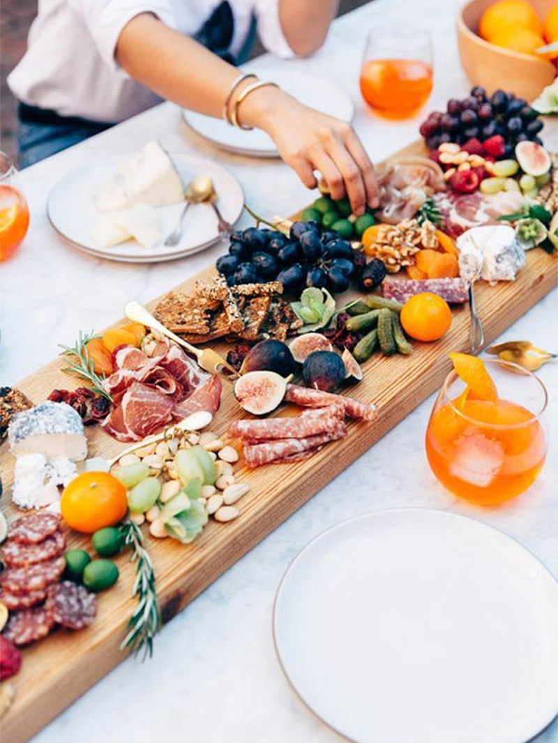 comidas para casamento