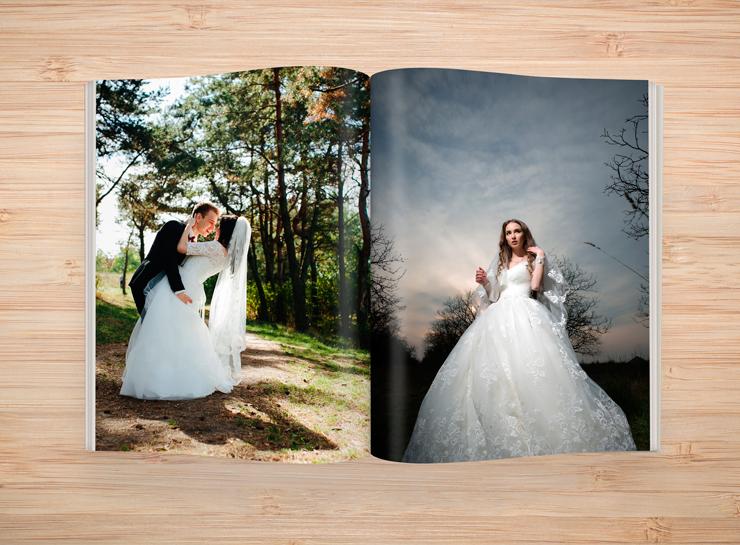 livro com fotos