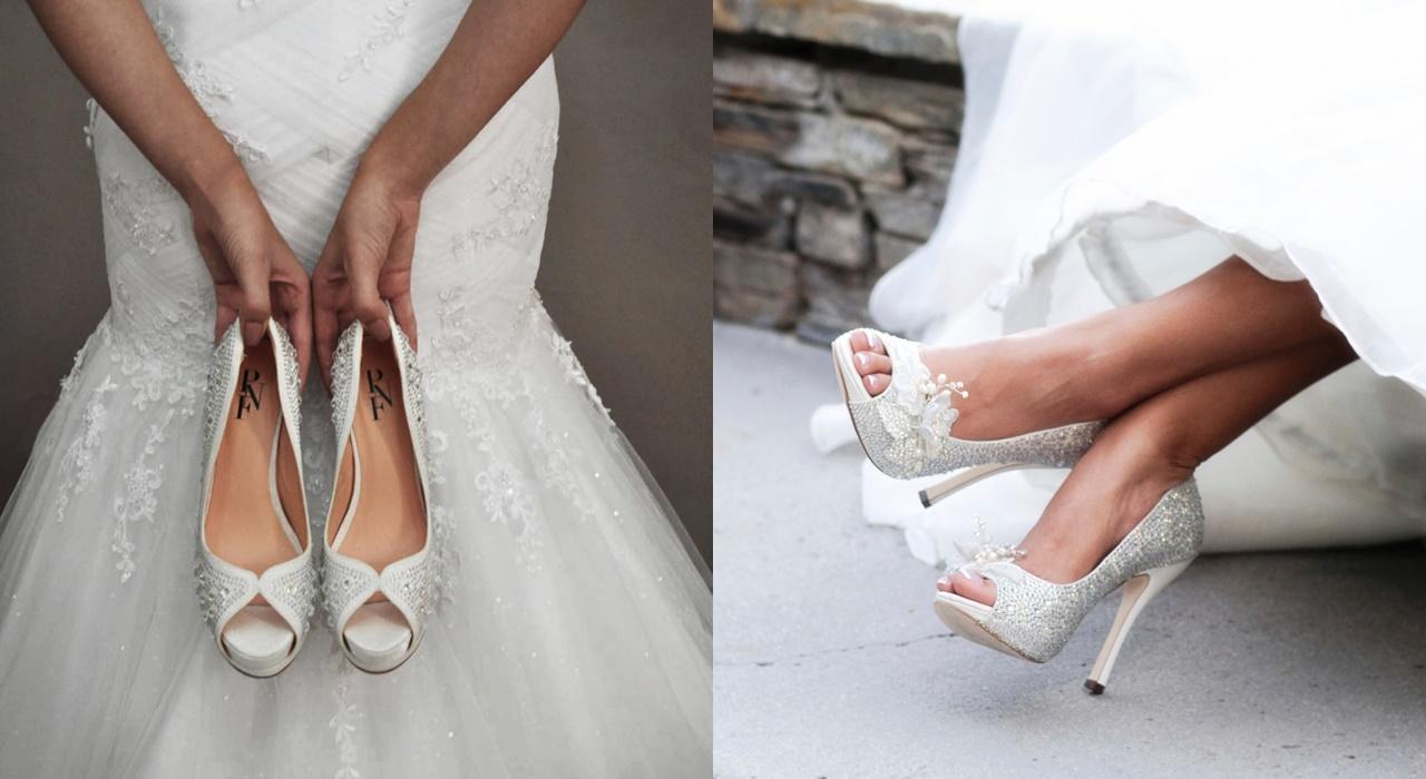 sapatos para noivas meia pata