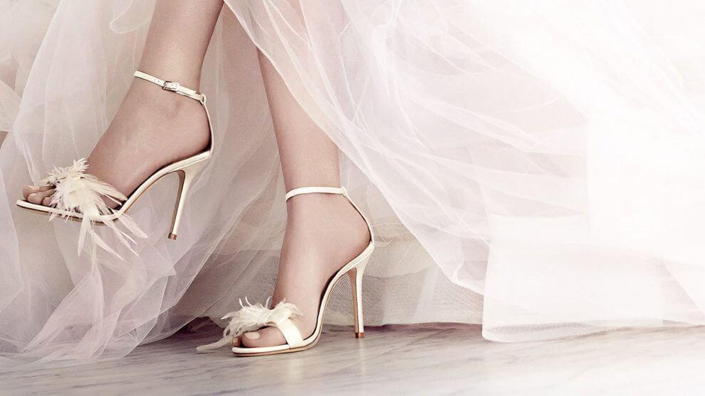 sandália para noivas